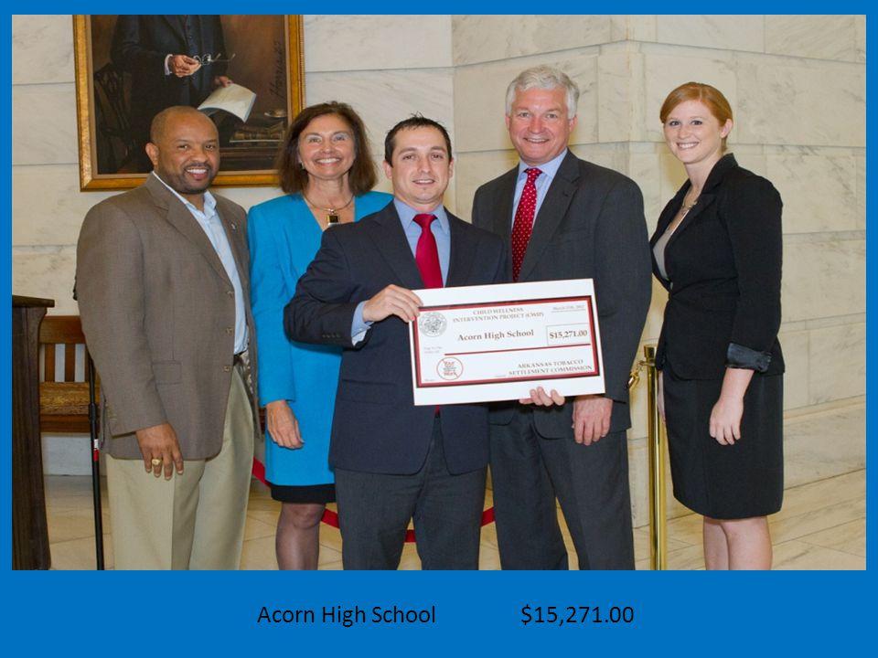 Acorn High School $15,271.00