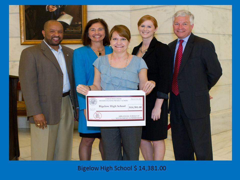 Bigelow High School $ 14,381.00