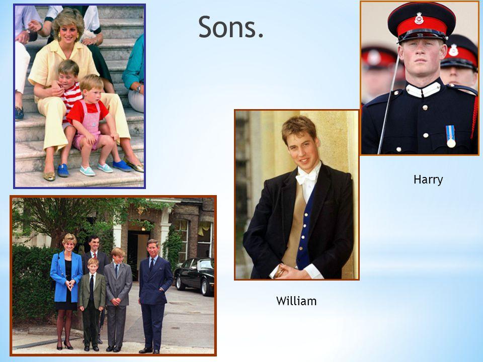 Sons. William Harry