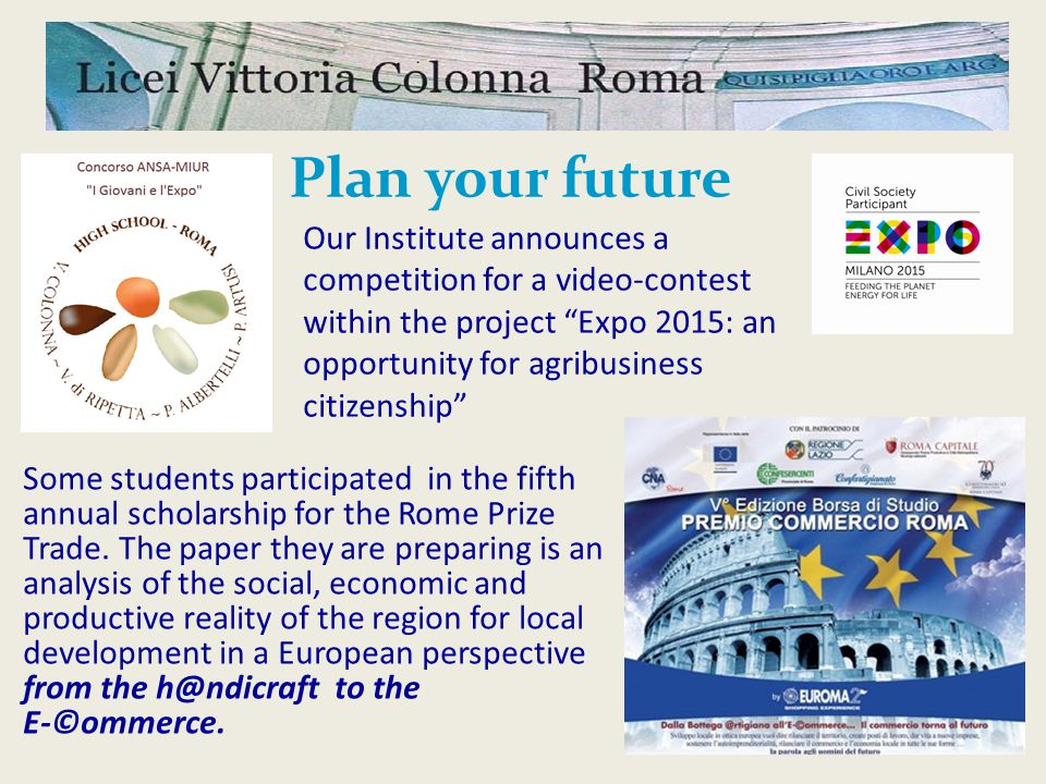 Discover your future The biggest event since 1990 in Italy dedicated to university, educational and professional guidance.