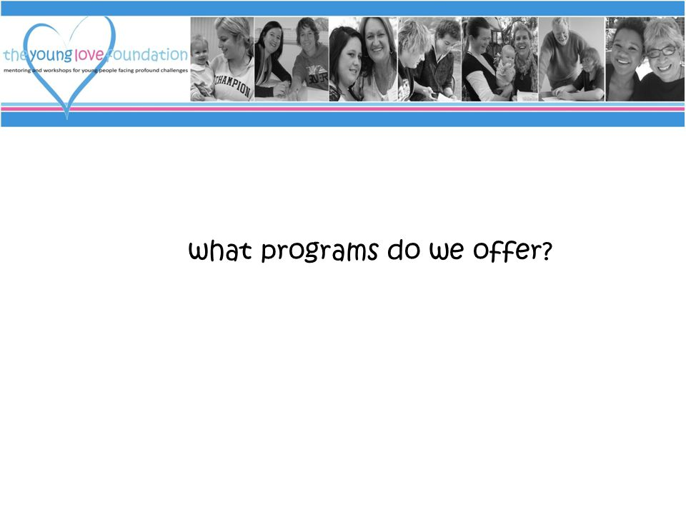 what programs do we offer