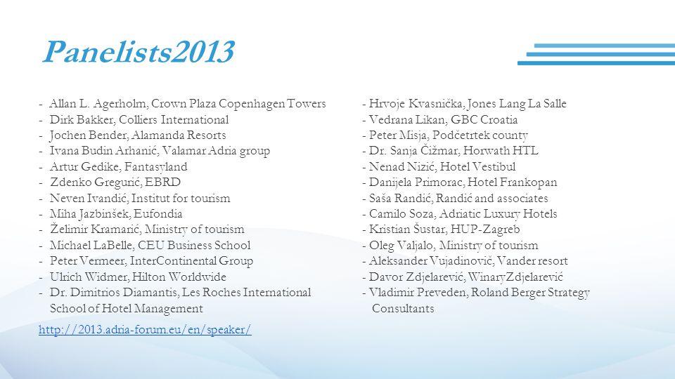Panelists2013 - Allan L.
