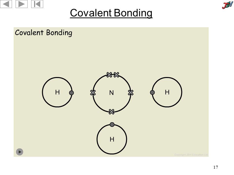 17 Covalent Bonding