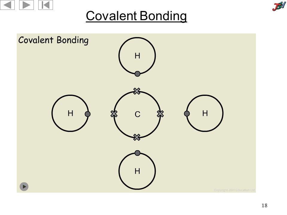 18 Covalent Bonding