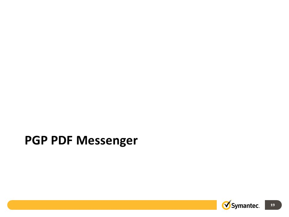 19 PGP PDF Messenger