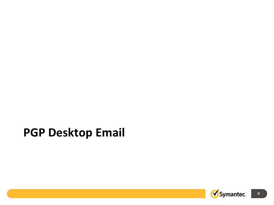 9 PGP Desktop Email