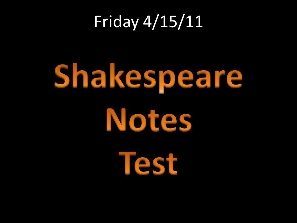 Friday 4/15/11