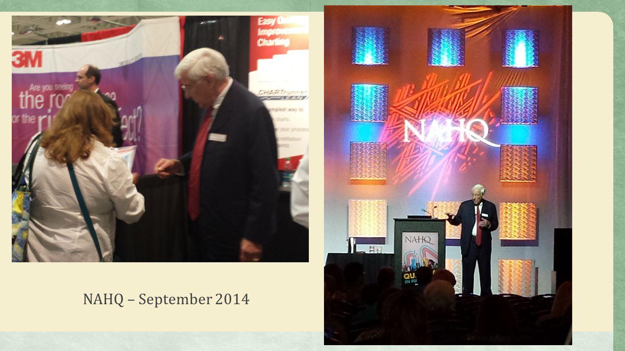 NAHQ – September 2014