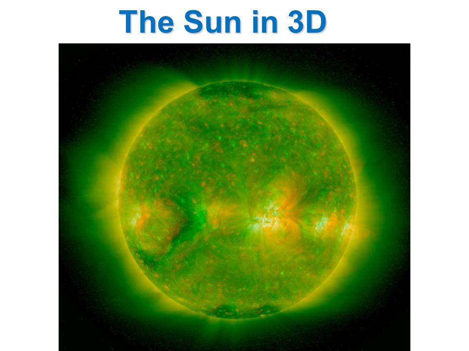The Sun in 3D