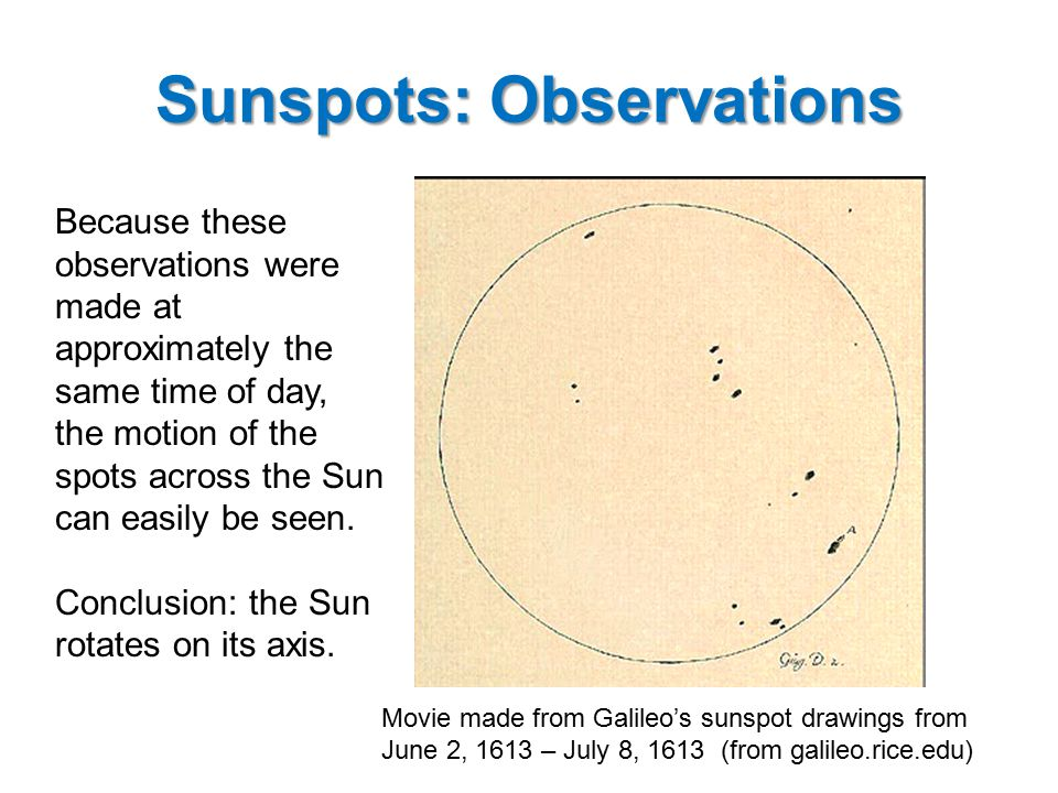 Sunspots: A modern understanding Sunspots are about 2,000 degrees Kelvin cooler than the average temperature on the photosphere (5,000 degrees Kelvin).