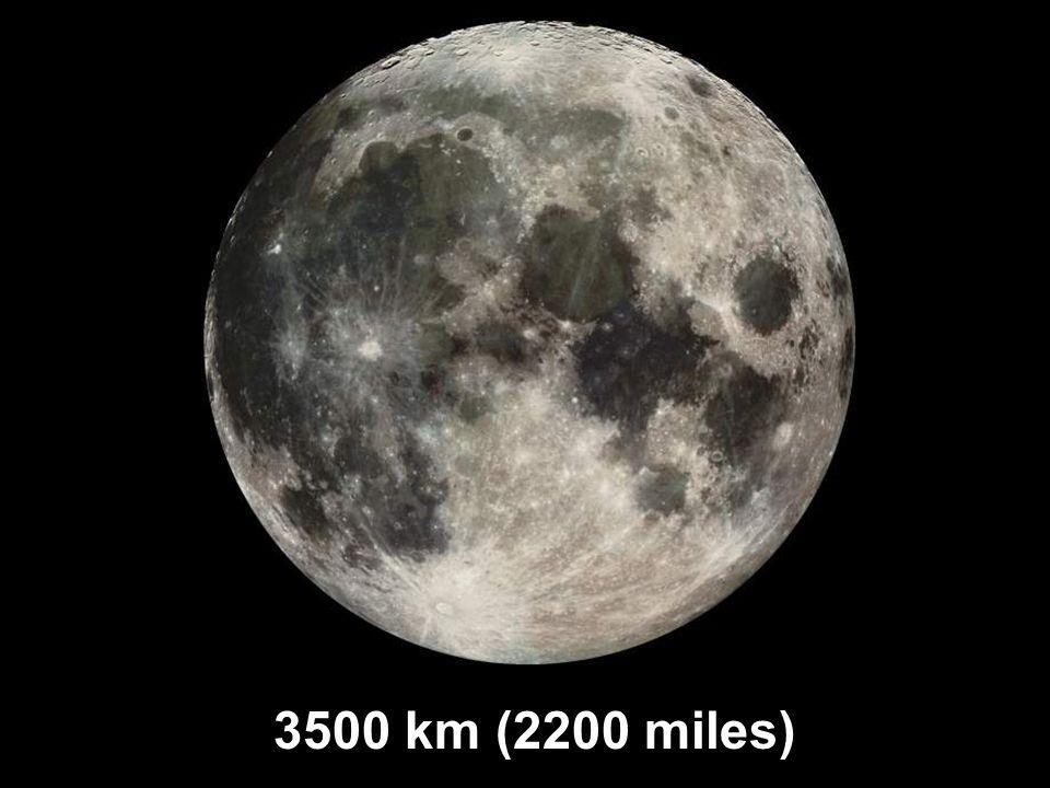 3500 km (2200 miles)