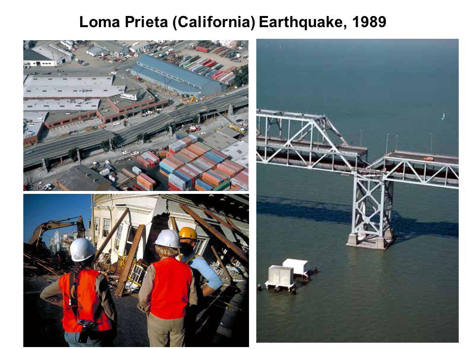 Loma Prieta (California) Earthquake, 1989