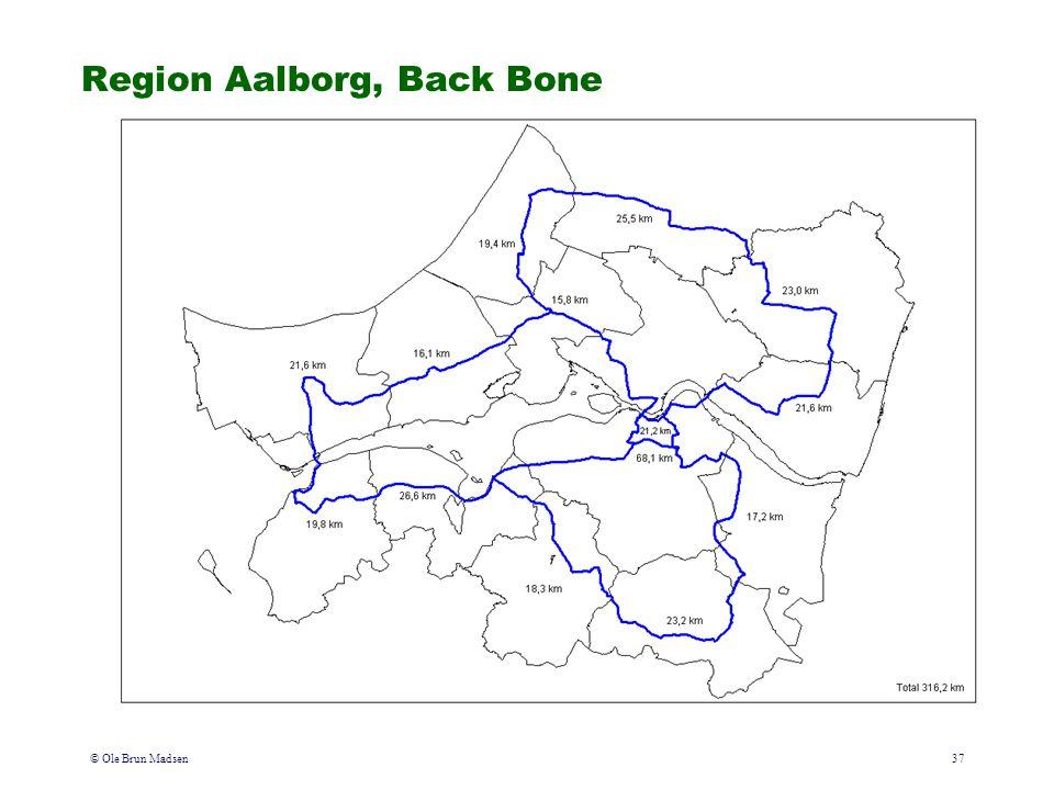© Ole Brun Madsen37 Region Aalborg, Back Bone