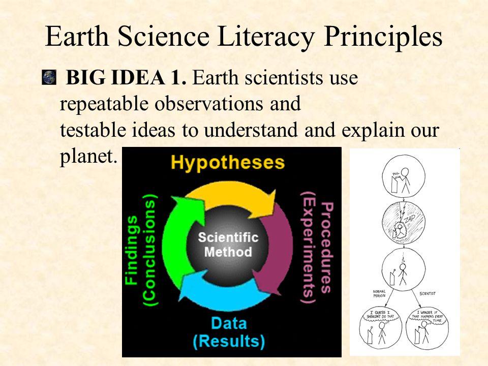 http://www.earthscienceliteracy.org/ Earth Science Literacy Initiative
