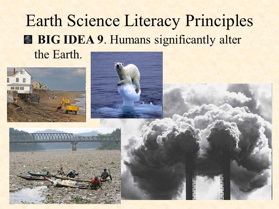 BIG IDEA 8. Natural hazards pose risks to humans. Earth Science Literacy Principles