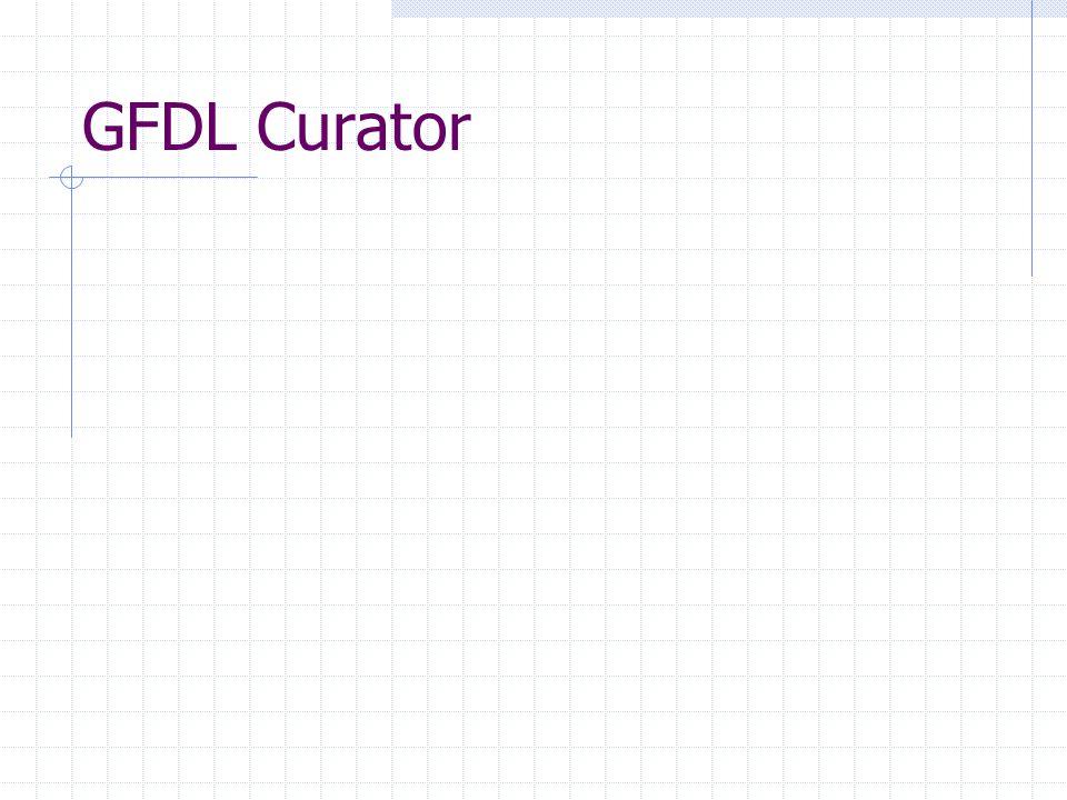 GFDL Curator