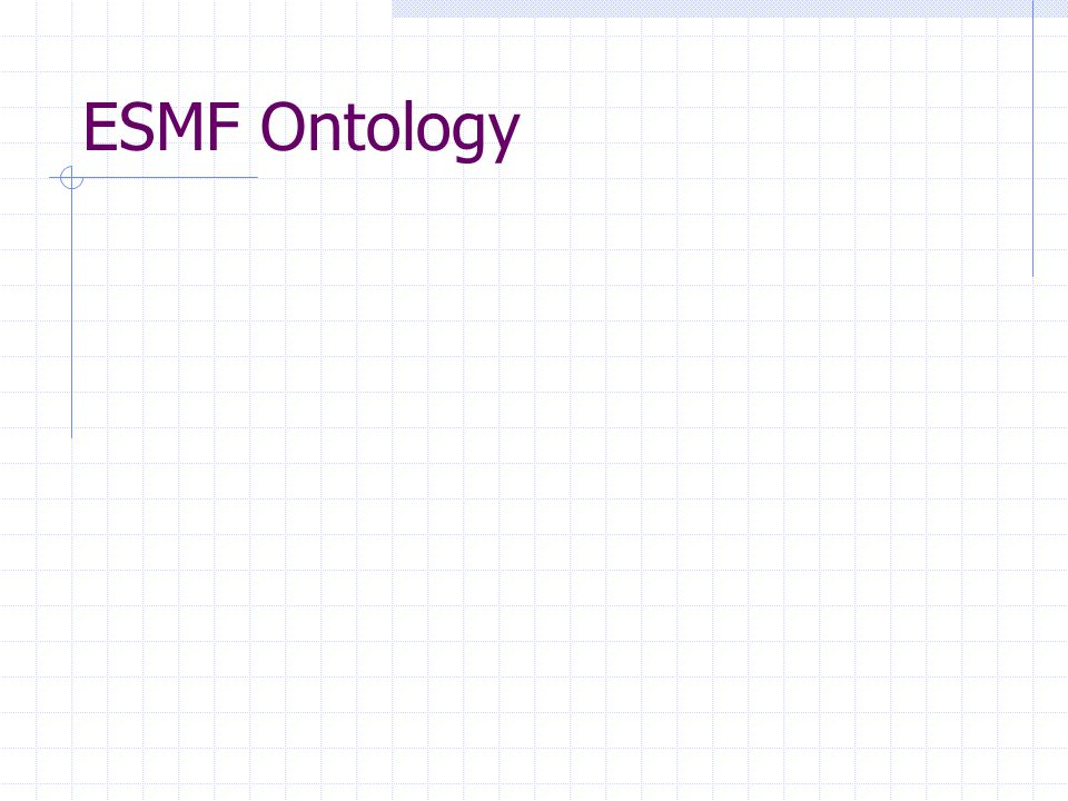 ESMF Ontology