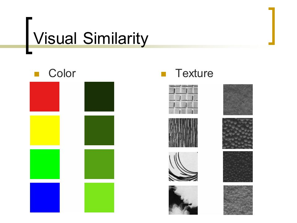 Uses for Visual Similarity Measures Classification  Is it a horse.