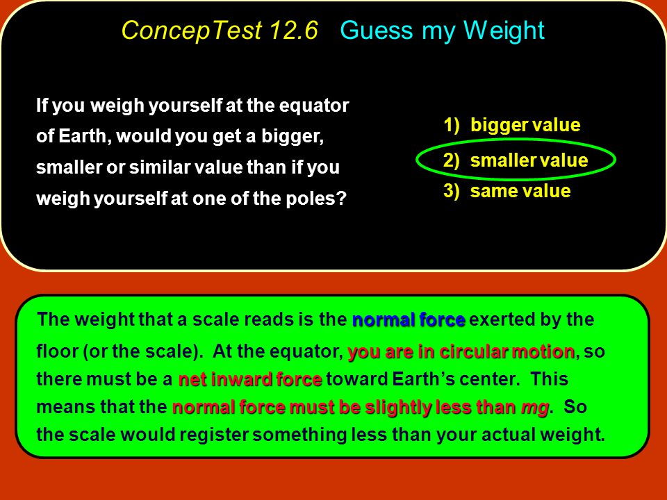 ConcepTest 12.7 Force Vectors A planet of mass m is a distance d from Earth.