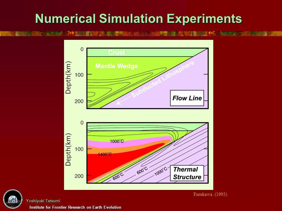 Institute for Frontier Research on Earth Evolution Yoshiyuki Tatsumi Numerical Simulation Experiments Furukawa (1993)