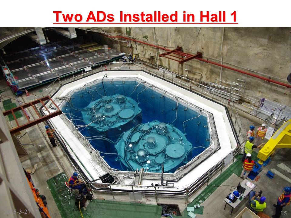 Two ADs Installed in Hall 1 15 2015-3-27
