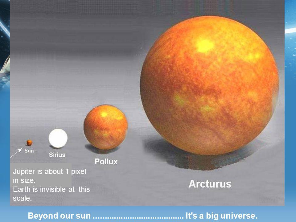 Beyond our sun........................................