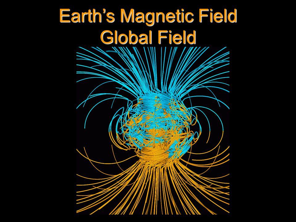 Earth's Magnetic Field Global Field