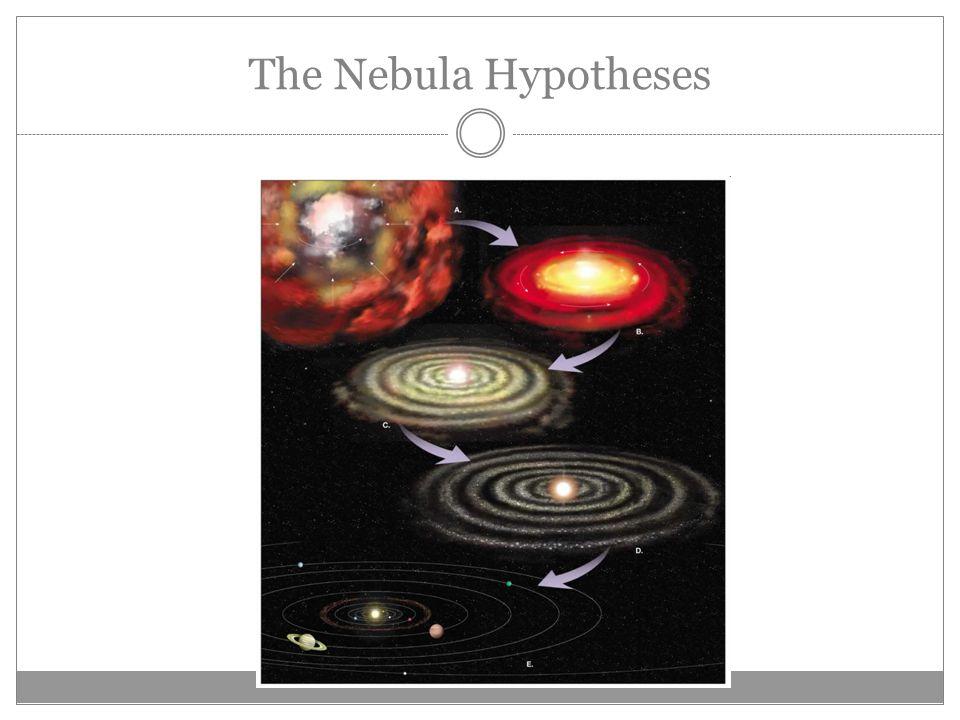 The Nebula Hypotheses
