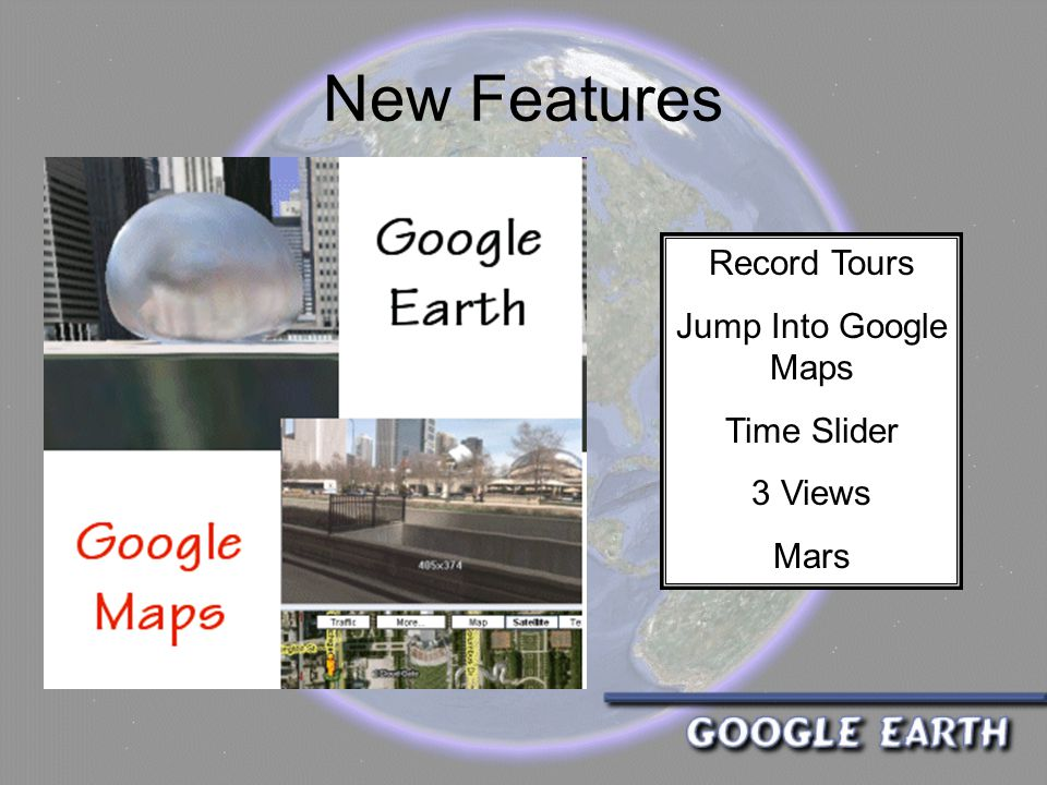 New Features Record Tours Jump Into Google Maps Time Slider 3 Views Mars