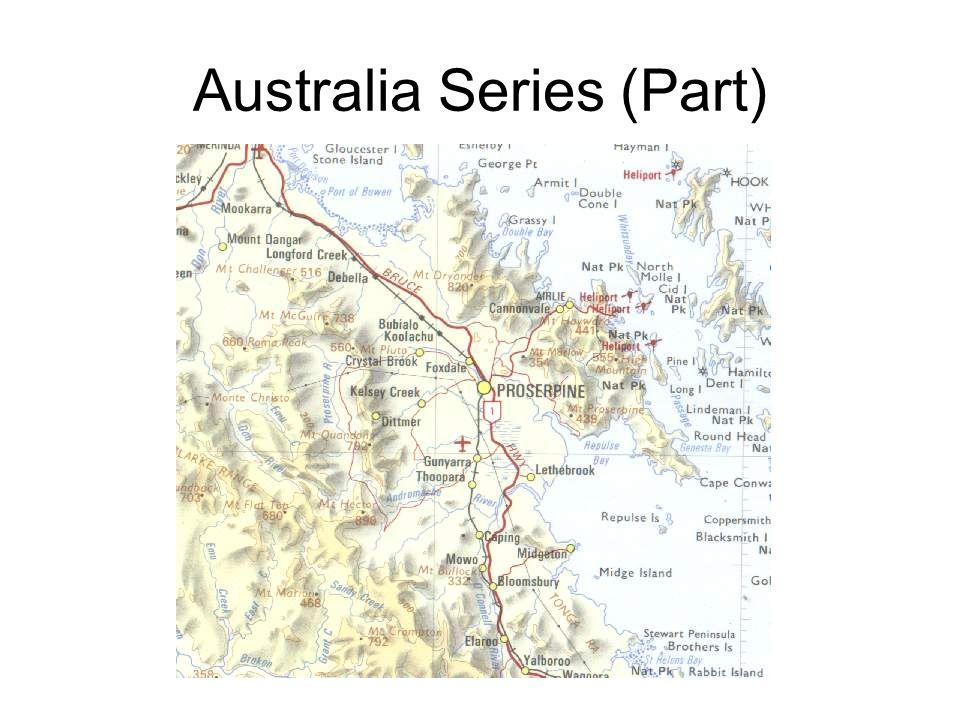 Australia Series (Part)