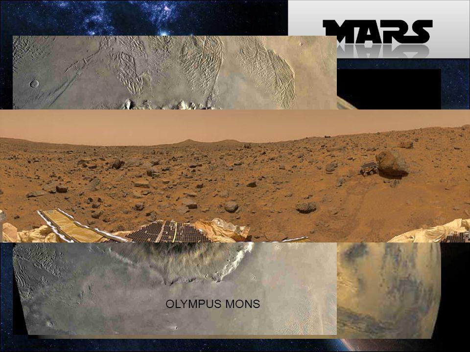 WATER IN MARS OLYMPUS MONS