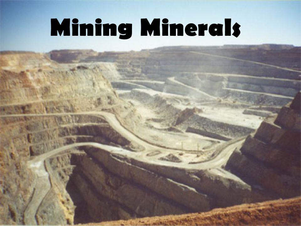 Mining Minerals