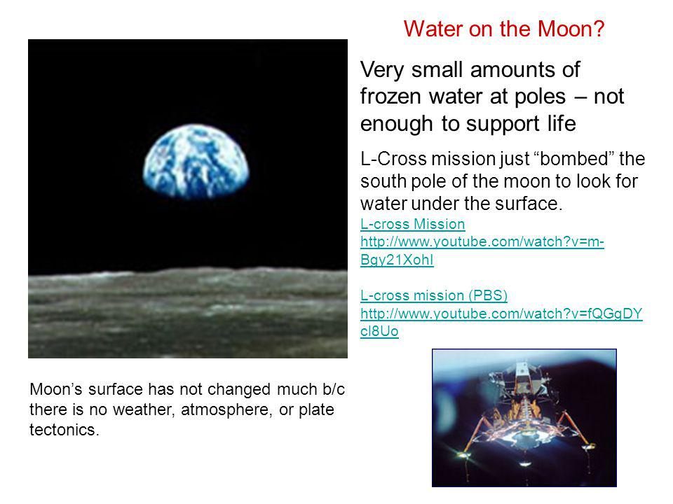 """Water on the Moon? Very small amounts of frozen water at poles – not enough to support life L-Cross mission just """"bombed"""" the south pole of the moon t"""