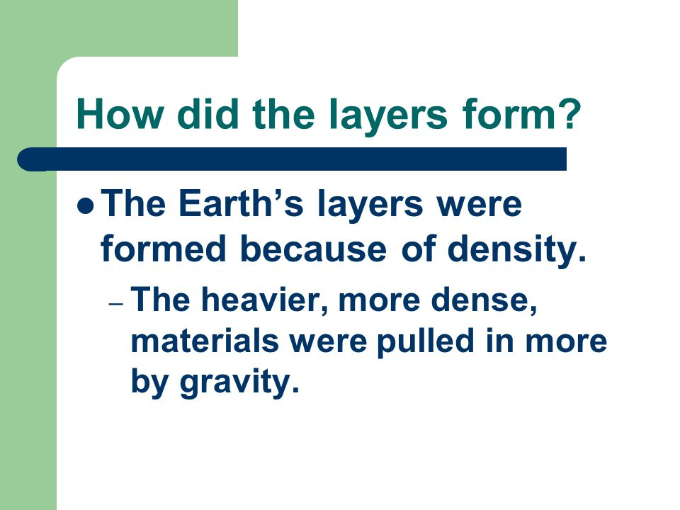 What are the layers made of.