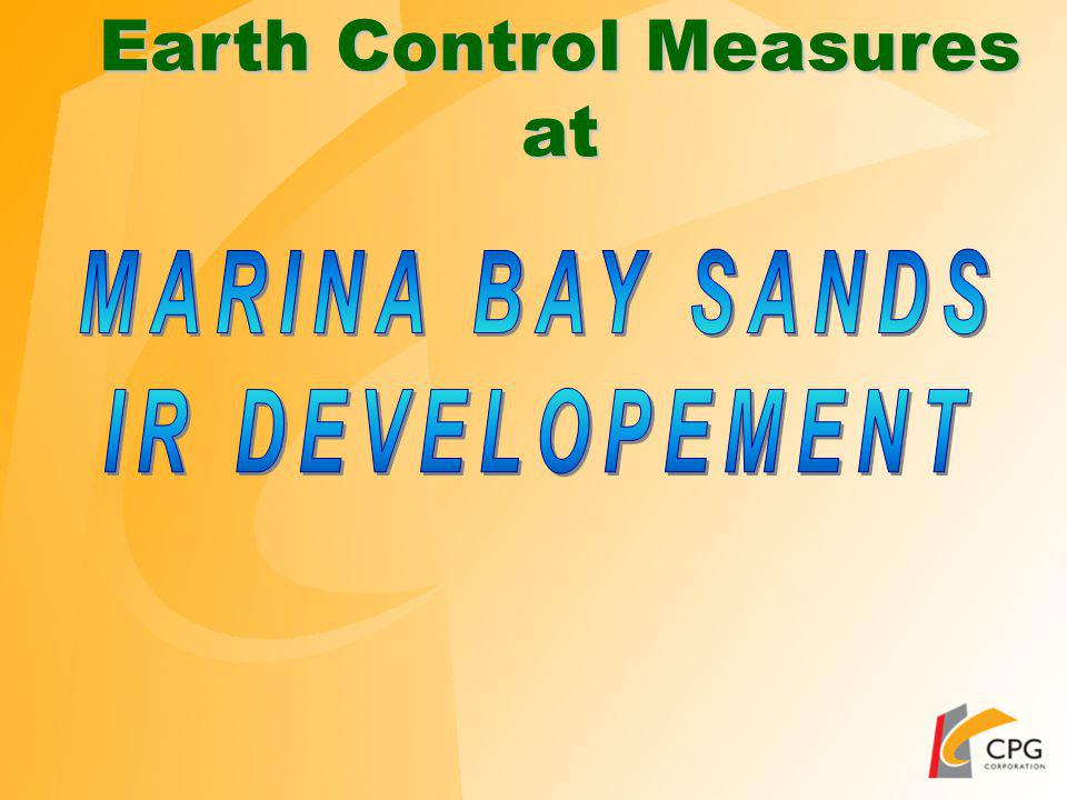 Earth Control Measures at