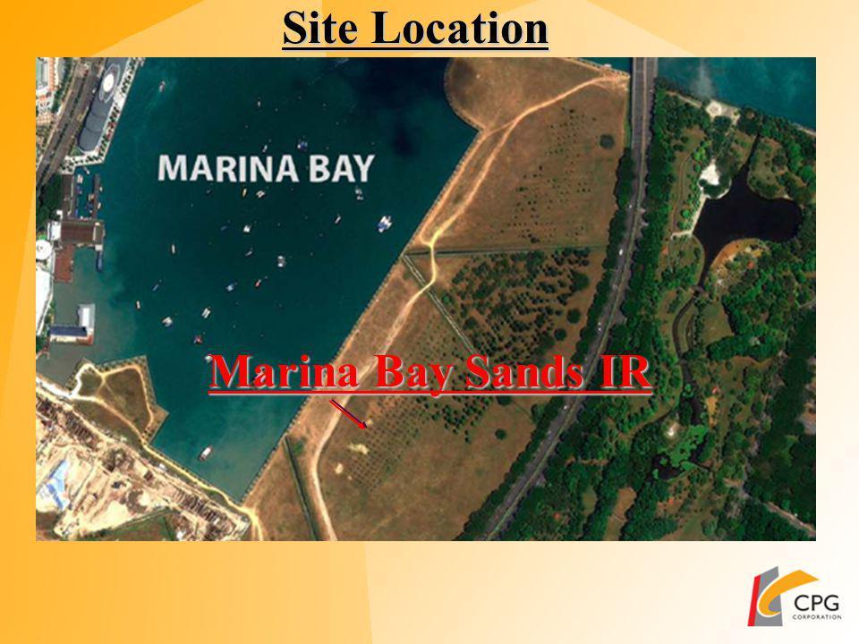 Site Location Marina Barrage