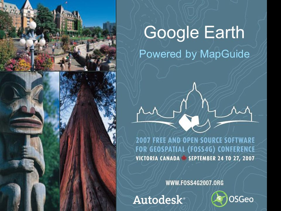 2© 2006 Autodesk Session Outline MapGuide / Google Earth Integration Overview Demo How it Works and How to Use It