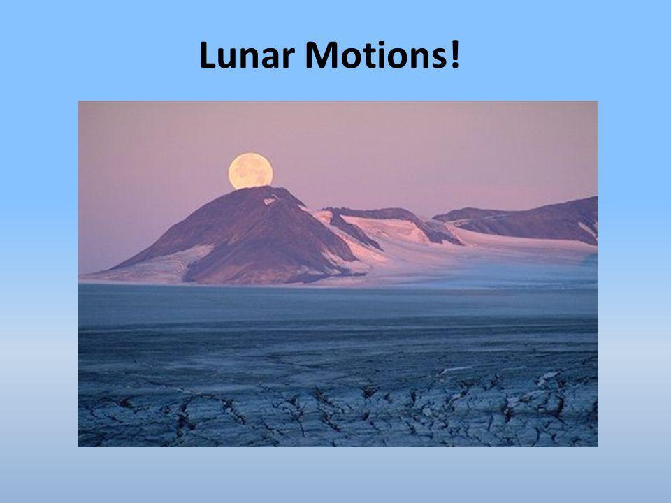 Lunar Motions!