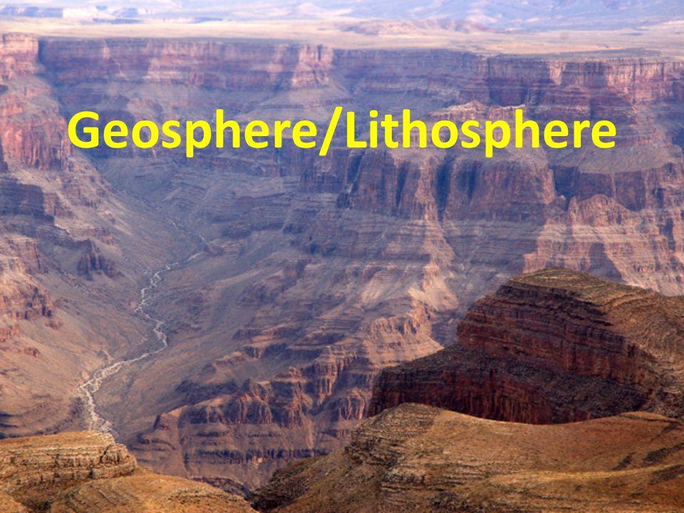 Geosphere/Lithosphere