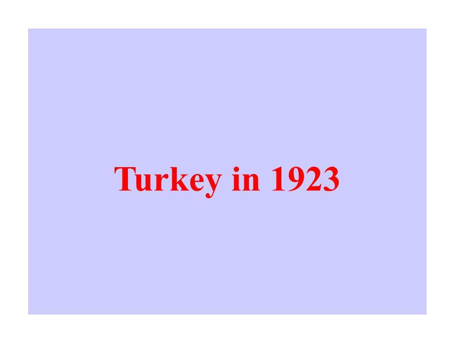 Turkey in 1923