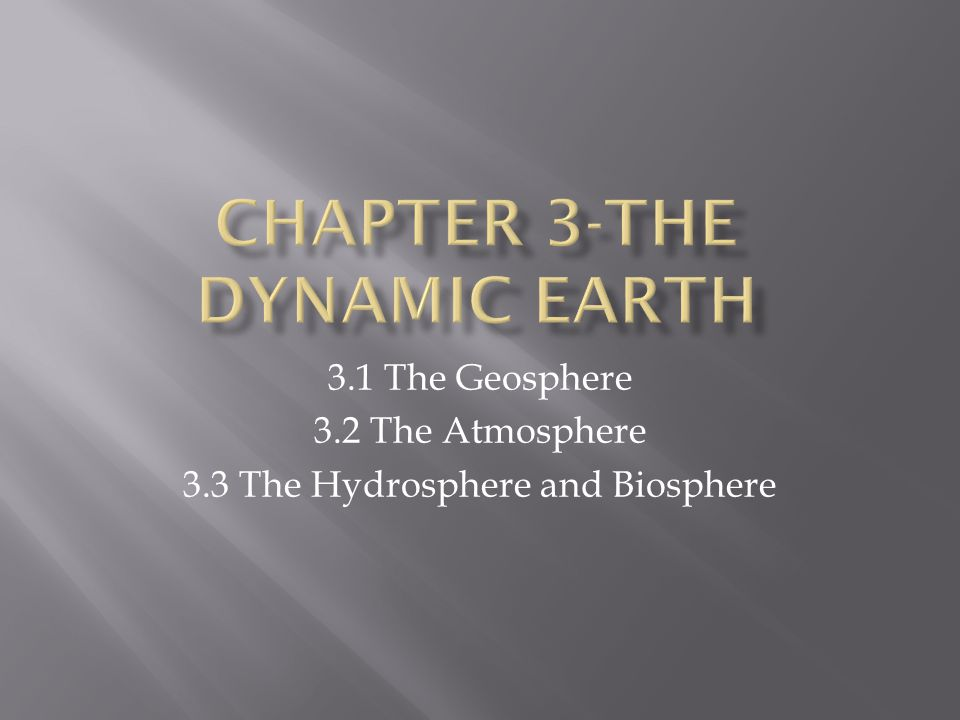  Describe the composition and structure of Earth.