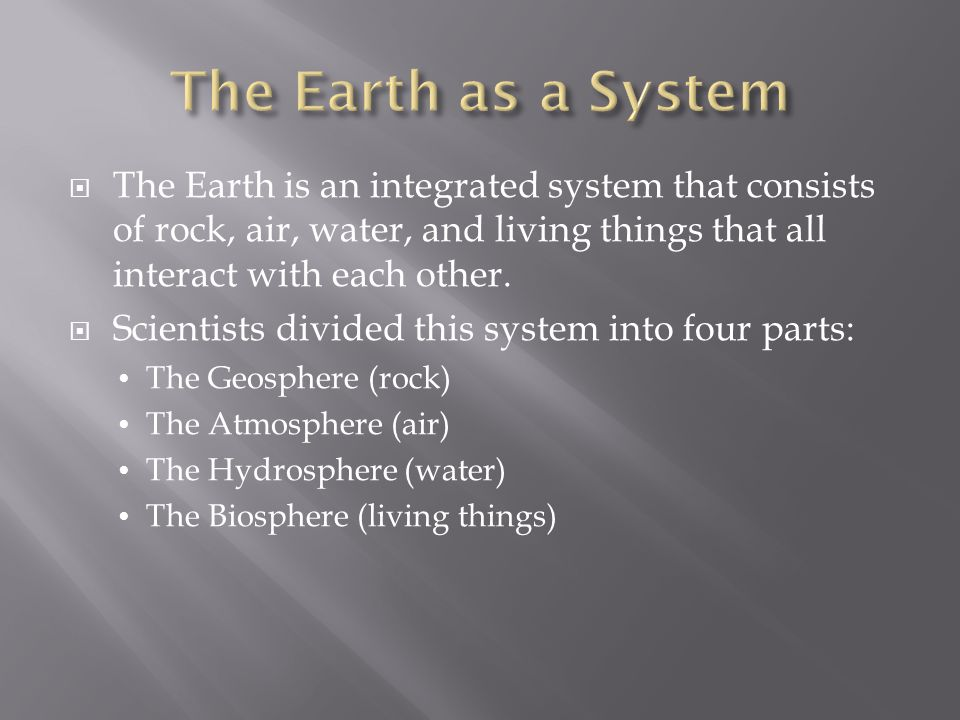  Earth can be divided into five layers based on the physical properties of each layer.