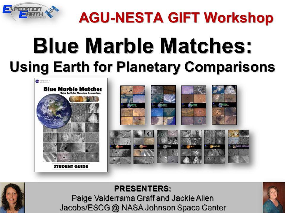 BLUE MARBLE MATCHES Part 1: Be Descriptive.