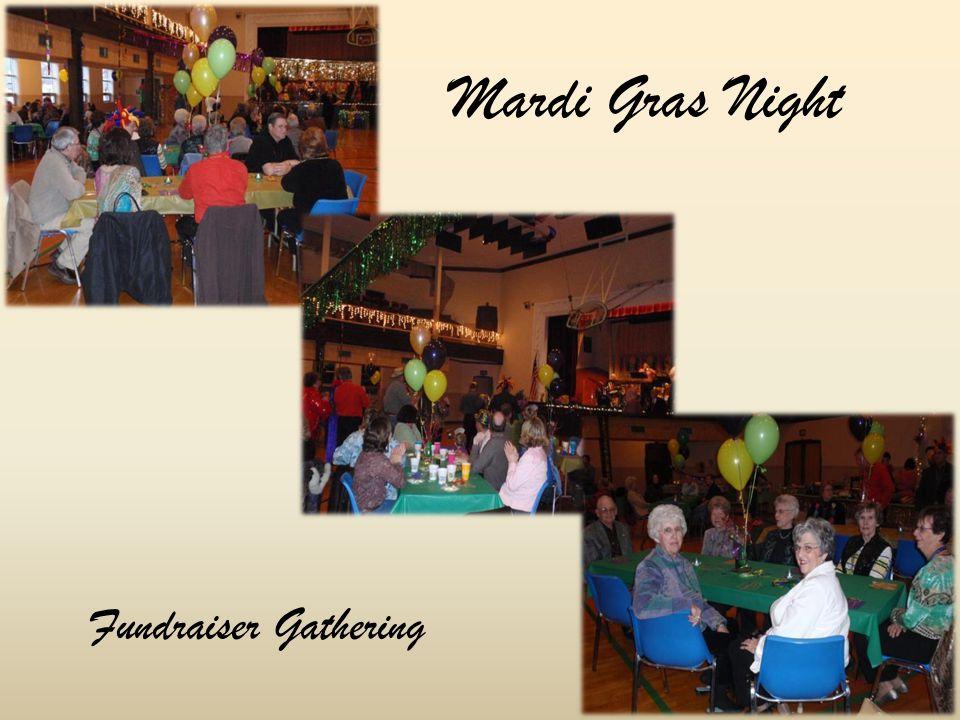 Mardi Gras Night Fundraiser Gathering