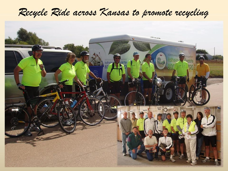 Recycle Ride across Kansas to promote recycling