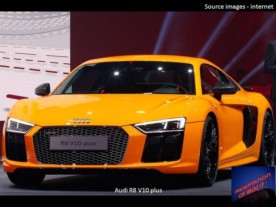 Source images - internet Audi R8 V10 plus