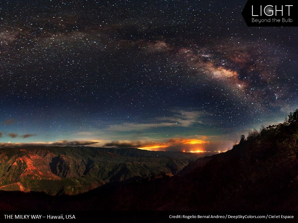 THE MILKY WAY – Hawaii, USA Credit: Rogelio Bernal Andreo / DeepSkyColors.com / Ciel et Espace