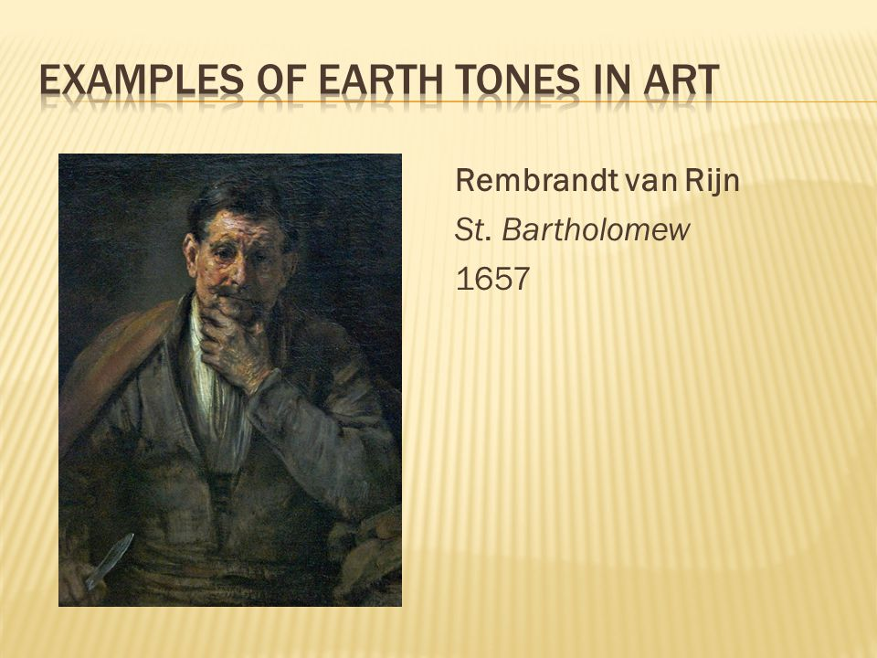 Rembrandt van Rijn St. Bartholomew 1657