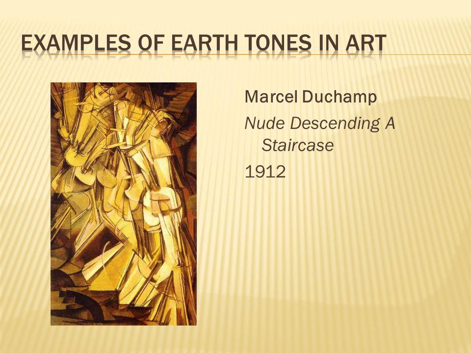Marcel Duchamp Nude Descending A Staircase 1912