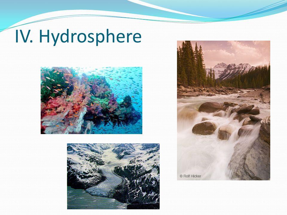 IV. Hydrosphere